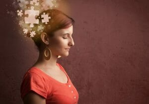 woman puzzle, help for back to school, rethink it