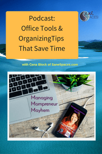 Office Tools & Organizing Tips/podcast/sanespaces.com