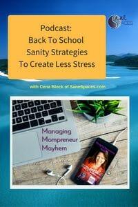 back to school/mompreneur/podcast/sanespaces.com