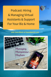 How To Hire & Manage Virtual Assistant Staff for Business & Home/support/sanespaces.com