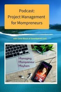 Project Management for Mompreneurs   Podcast  SaneSpaces.com