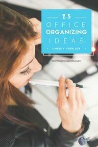 25 office organizing ideas