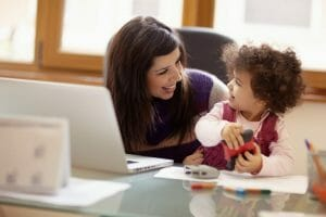 mom, child, baby, action scheduling