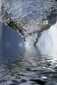 Water Swirl, drain, time